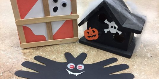 Kids Crafts: Halloween